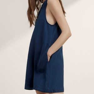 Aritzia | Wilfred | Trompette Linen Blend Dress